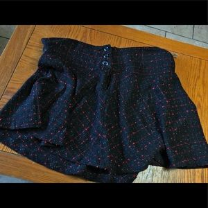 Black and red torrid skirt ( small hole)
